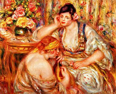 The Concert Print by Pierre Auguste Renoir
