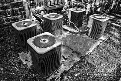The Condensers Print by Olivier Le Queinec