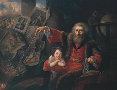 Nathaniel Painting - The Conjuror by Nathaniel Hone
