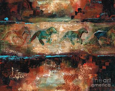 Southwest Art Painting - The Cookie Jar by Frances Marino