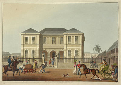 The Court House Print by British Library