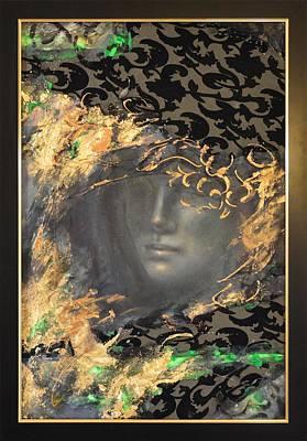 Quadri Painting - The Courtesan By Mihaela Ghit by Mihaela Ghit