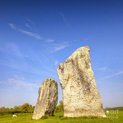 The Cove Avebury Wiltshire Print by Colin and Linda McKie