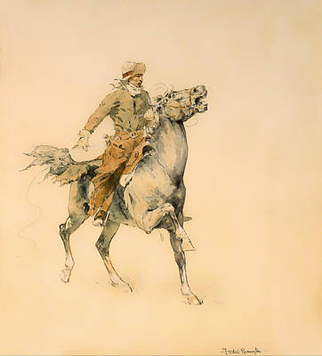 Chaps Painting - The Cowboy by Mountain Dreams