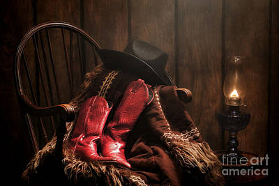 Old West Photograph - The Cowgirl Rest by Olivier Le Queinec