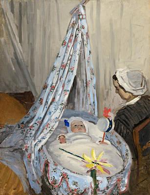 The Cradle Print by Claude Monet