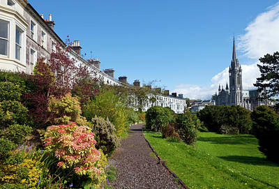 Garden Photograph - The Crescent Built Around 1850,with St by Panoramic Images