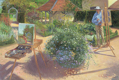 Painter Photograph - The Crossing, 1997 Oil On Canvas by Timothy Easton
