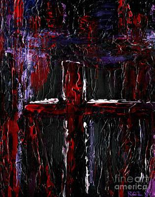 Roz Barron Abellera Painting - The Crossroads #1 by Roz Abellera Art