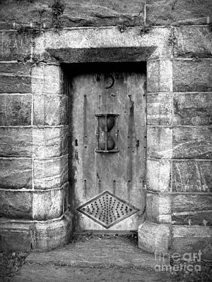 The Crypt Door Print by Avis  Noelle