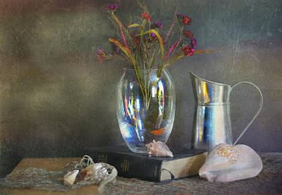 The Crystal Vase Print by Diana Angstadt