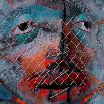 Native Art Digital Art - The Culture Can Survive - Let Them Speak by Jeff Burgess