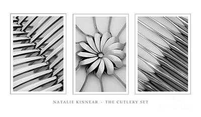 Photograph - The Cutlery Set by Natalie Kinnear