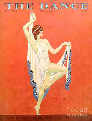 The Dance 1929 1920s Usa Nitza Vernille Print by The Advertising Archives