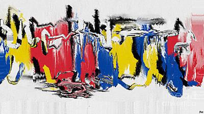 Roz Barron Abellera Painting - The Dance by Roz Abellera Art