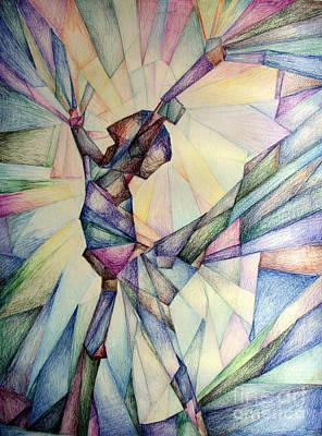 Drawing - The Dancer by Jennifer Apffel