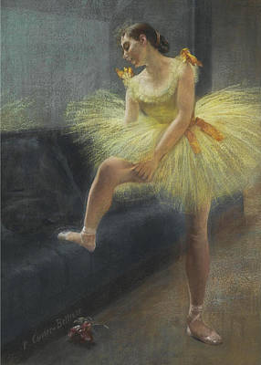 Carrier Painting - The Dancer by Pierre Carrier-Belleuse
