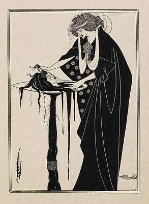 The Dancer's Reward. From Salome. Print by British Library