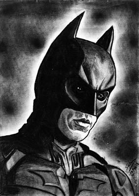 Drawing - Batman #2 by Salman Ravish