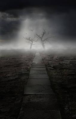 Mess Photograph - The Dark Land by Jaroslaw Blaminsky