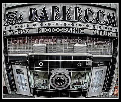 The Darkroom Print by Edward Fielding