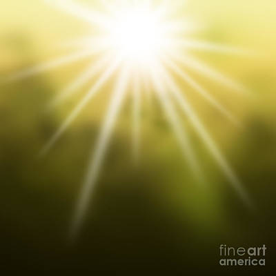 Morning Light Painting - The Dawn by Atiketta Sangasaeng