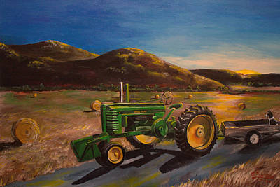 Bales Painting - The Dawn Of A New Day by Julia Robinson