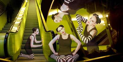 The De-escalating Dream - Self Portrait Print by Jaeda DeWalt