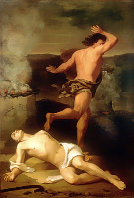 Cain Painting - The Death Of Abel by Mountain Dreams