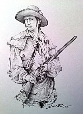 The Deerslayer Print by Jeff Prechtel