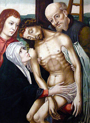 The Deposition Print by Rogier van der Weyden