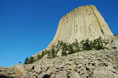 The Devils Tower Print by Micah May