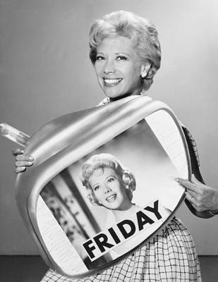 The Dinah Shore Show Print by Underwood Archives