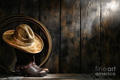 The Dirty Hat Print by Olivier Le Queinec