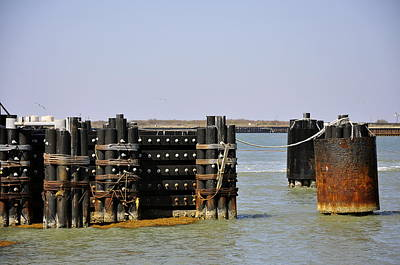 Photograph - The Docks by Cherie Haines