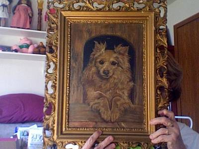 Must Art Painting - The Dog That Watches by Unknown