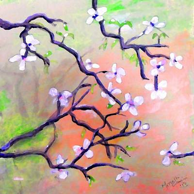The Dogwood Print by Marcello Cicchini