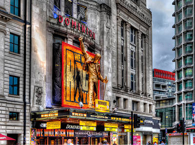 London Photograph - The Dominion Theatre by Tim Stanley