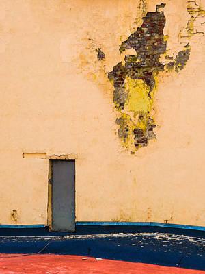 Red Roof Photograph - The Door - Featured 2 by Alexander Senin