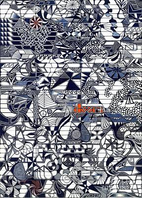The Doors Print by Gene Salas