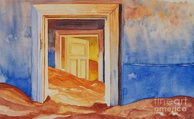 Subconscious Painting - The Doors Of The Mind by Lise PICHE