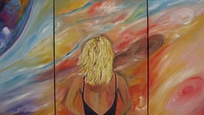 Surrealistic Painting - The Dream by Doris Cohen