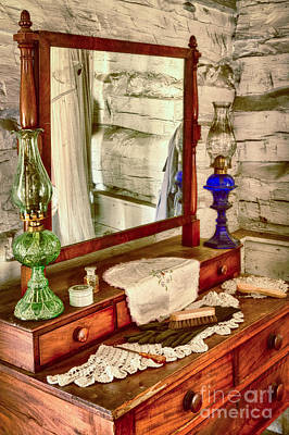 Dallas Photograph - The Dresser by Inge Johnsson