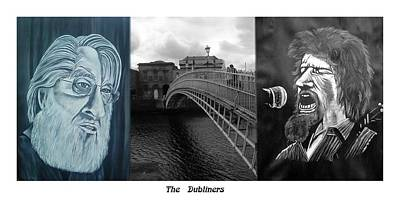 The Dubliners Print by Colin O neill