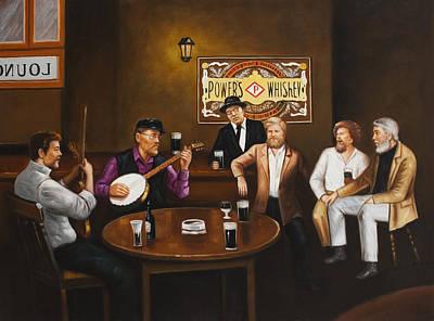 The Dubliners Luke Sings. Original by Michael Geoghegan