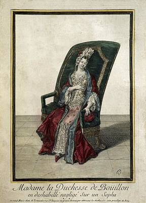 The Duchess Of Bouillon Posing Print by Everett