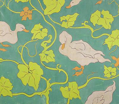 Ducks Painting - The Ducks by Paul Ranson