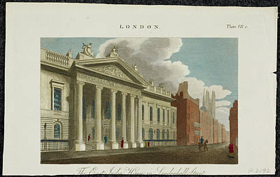 East India Photograph - The East India Company Headquarters by British Library