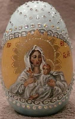 Ceramic Mixed Media - The Easter Season by Svetlana  Jenkins