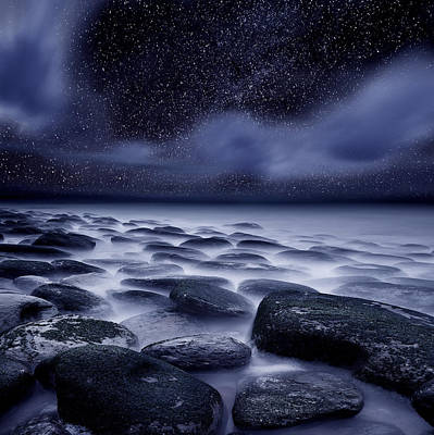 The Edge Of Forever Print by Jorge Maia